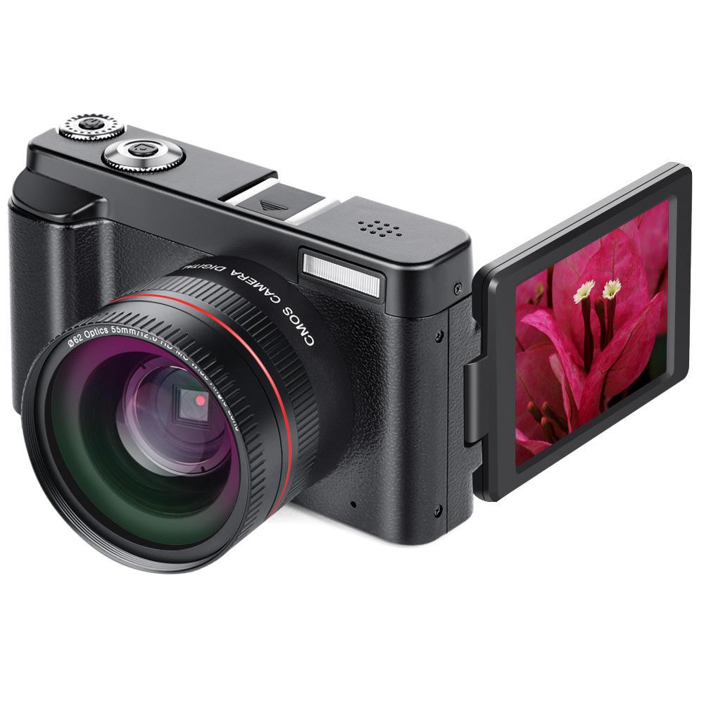 DC101 24MP 16X Zoom Focus 1080P HD 3.0 Inch TFT Screen Digital SLR Camera with Macro Lens