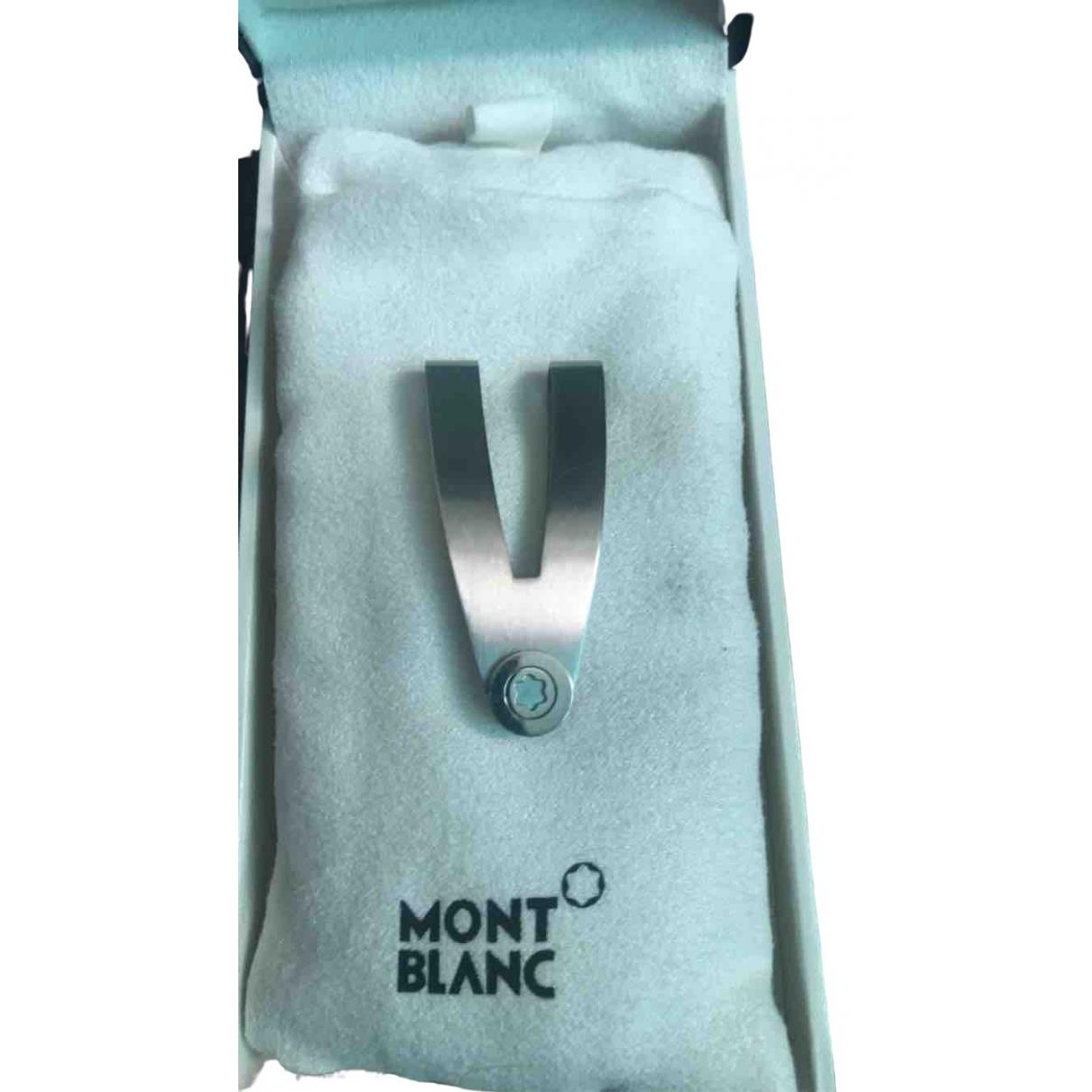 Montblanc - Objets & Deco   pour lifestyle en metal - anthracite