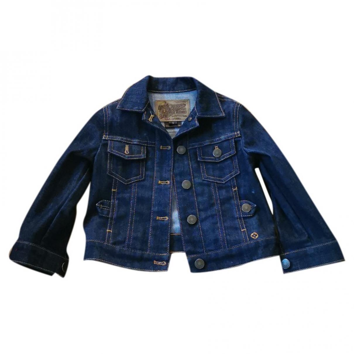 Louis Vuitton - Blousons.Manteaux   pour enfant en coton - bleu