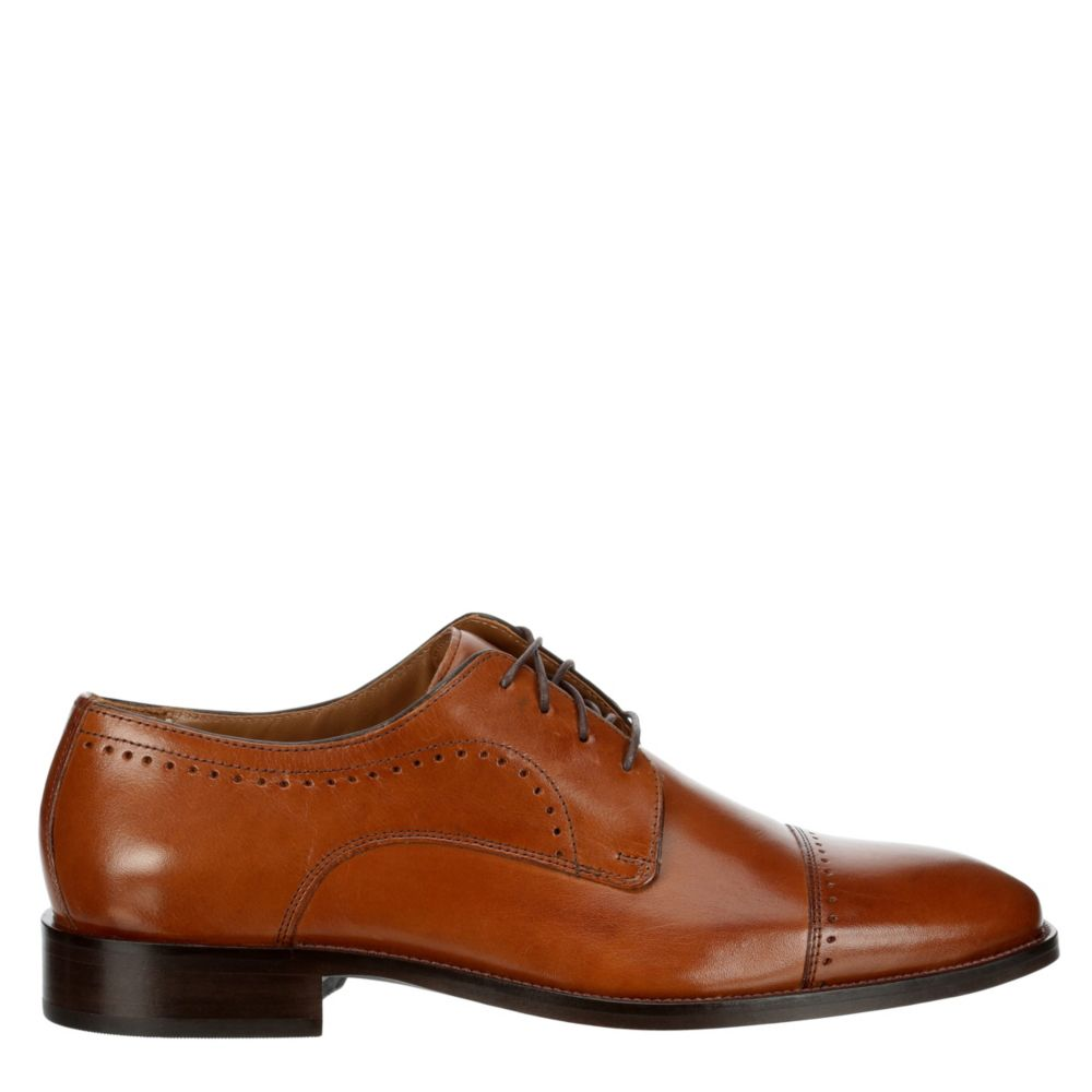 Johnston & Murphy Mens Sanborn Cap Toe Oxfords