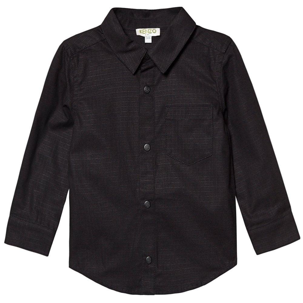 Kenzo Kids Gaspard Reverse Dragon Print Shirt Colour: BLACK, Size: 12