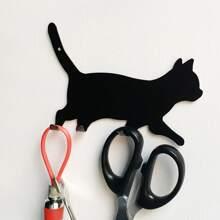 Katze formige Wandhaken