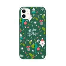 iPhone Huelle mit Weihnachten Muster