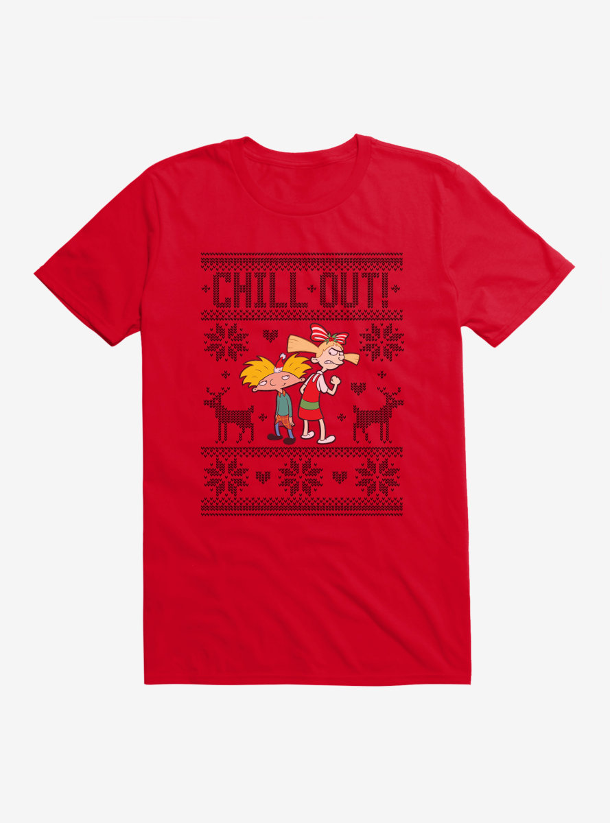 Hey Arnold! Chill Out T-Shirt