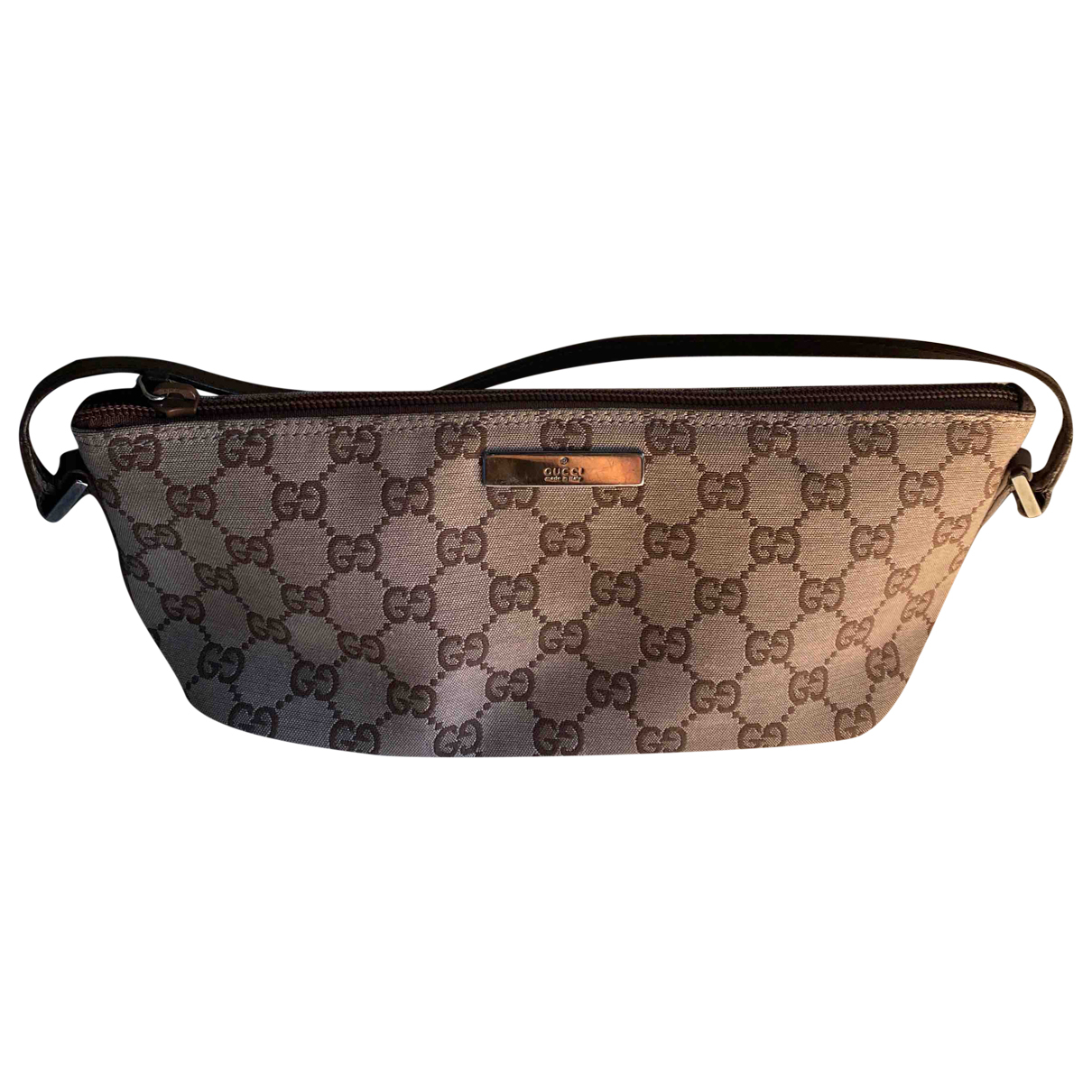 Bolso baguette de Lona Gucci
