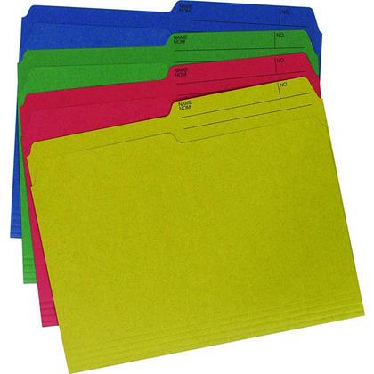 Hilroy@ Enviro-Plus Colored File Folders, Letter Size 126896