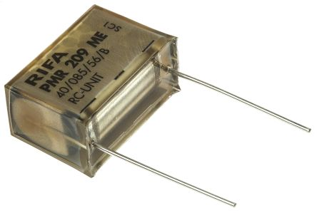 KEMET RC Capacitor 470nF 100Ω Tolerance ±20% 250 V ac, 630 V dc 1-way Through Hole PMR209 Series (5)