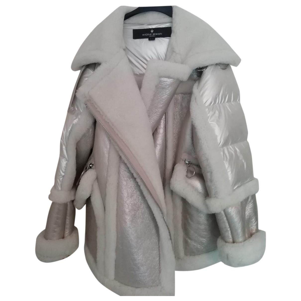 Nicole Benisti \N Grey Leather coat for Women 10 UK