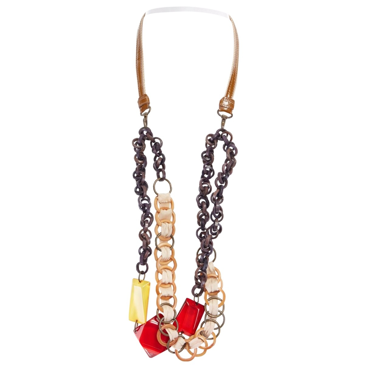 Marni \N Red Metal necklace for Women \N