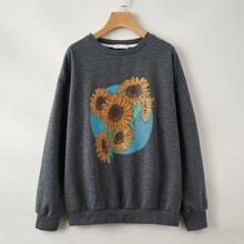 Sunflower Graphic Sweatshirt