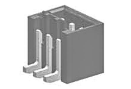 Molex , 87437, 2 Way, 1 Row, Vertical PCB Header (250)