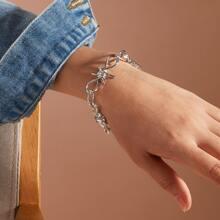 1pc Knot Decor Bracelet