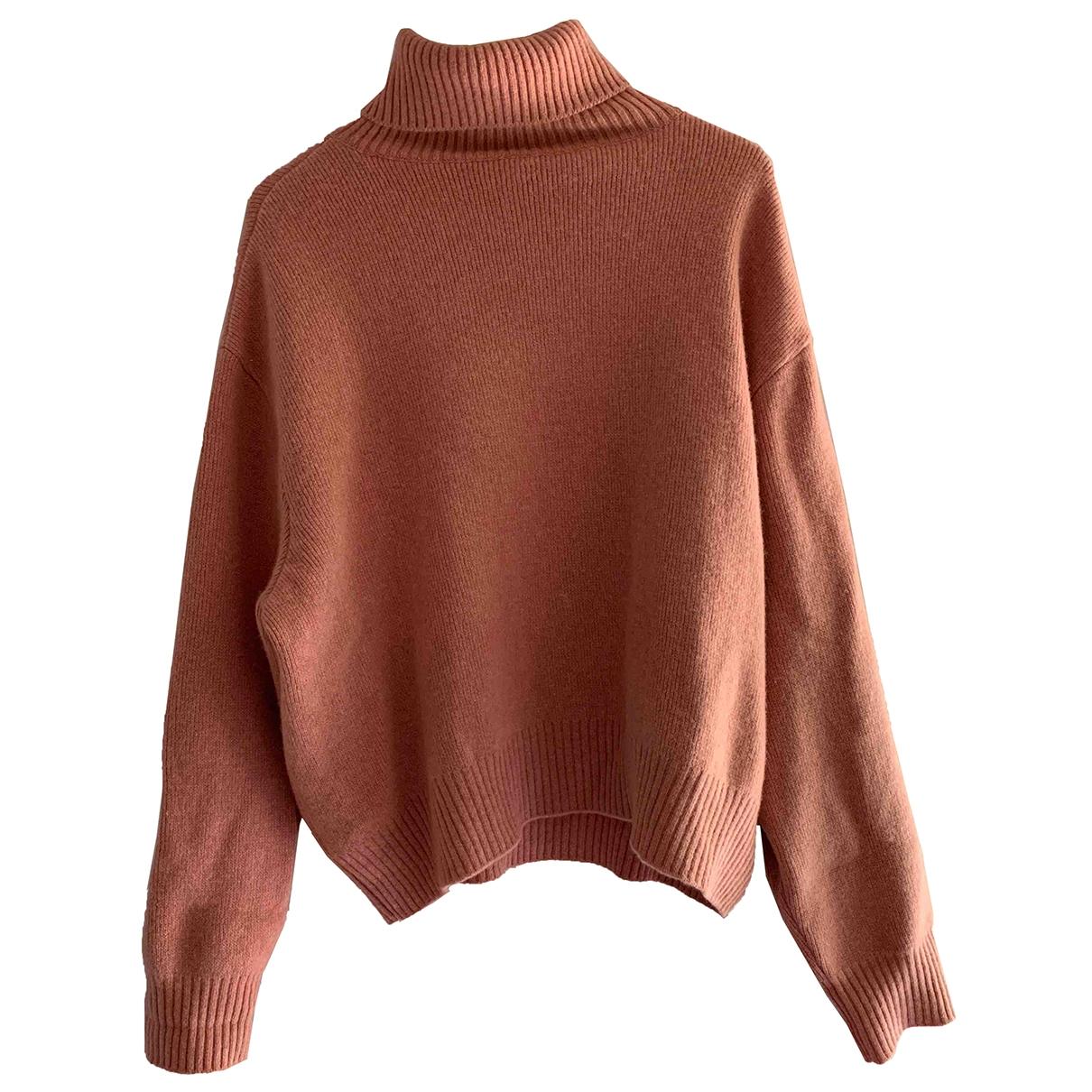 Raey - Pull   pour femme en laine - rose