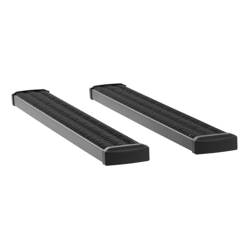 Luverne 415060-401521 Textured Black Powder Coat Aluminum Grip Step 7