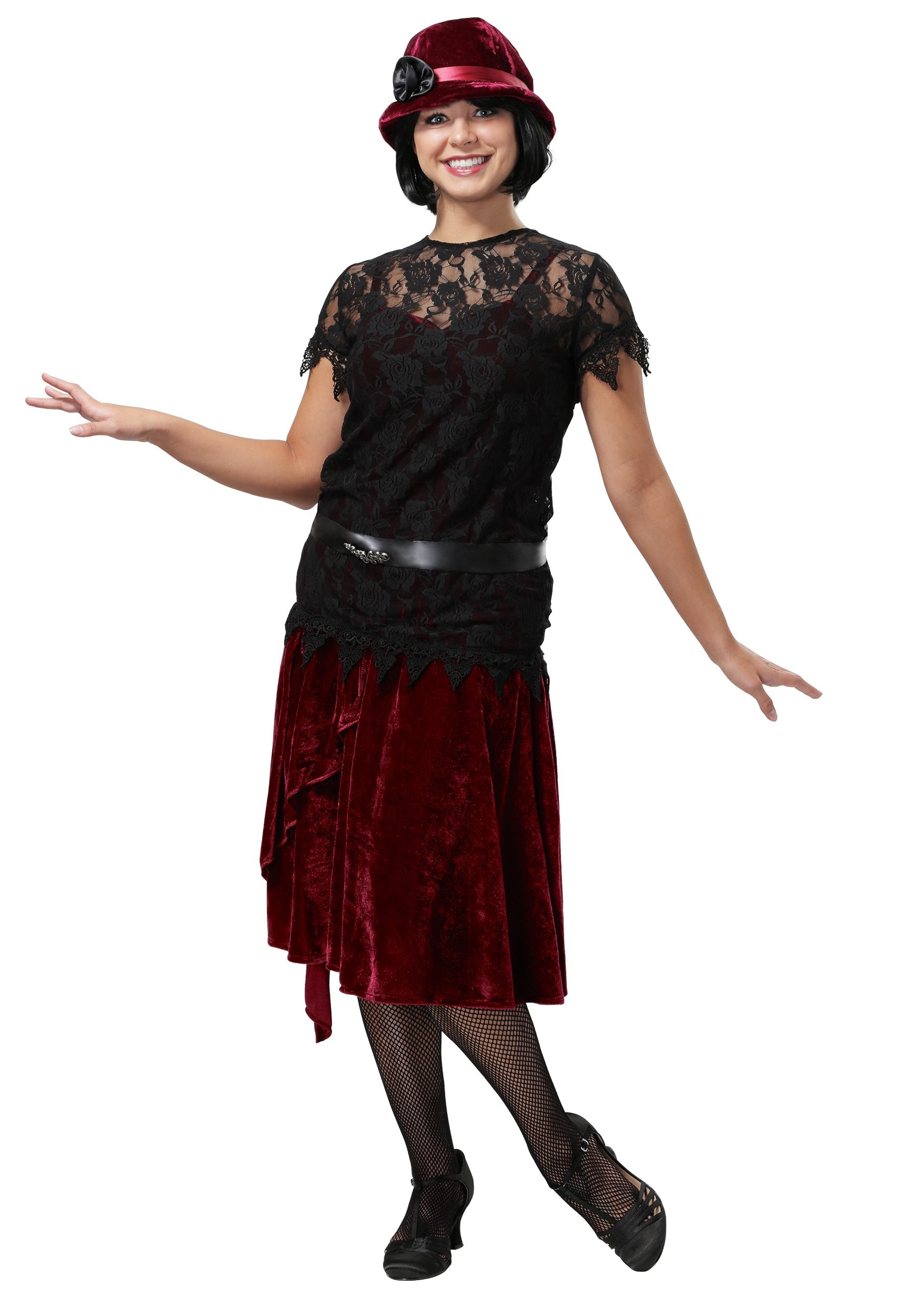 Toe Tappin' Flapper Plus Size Costume for Women | Exclusive