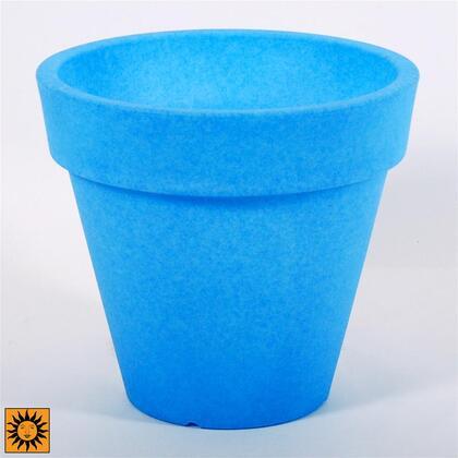 CF4141 Blue Terme Conical Pot