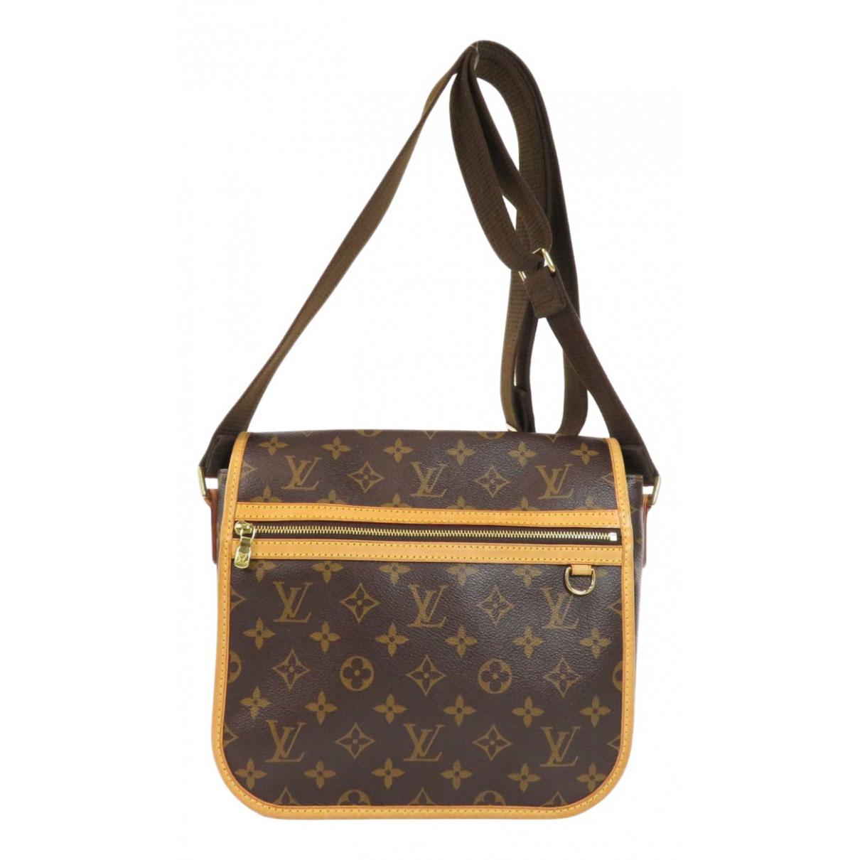 Louis Vuitton Bosphore Brown Cloth handbag for Women \N