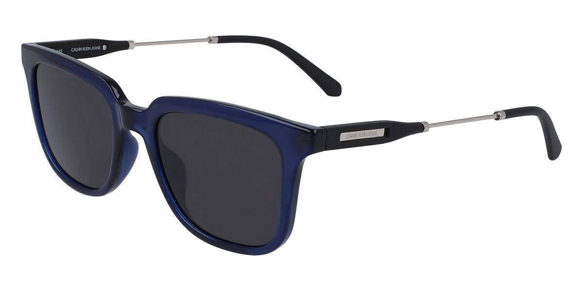 Calvin Klein Jeans CKJ20808S 401 Men's Sunglasses Blue Size 52