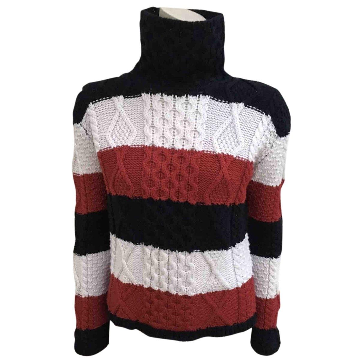 Thom Browne - Pull   pour femme en laine - multicolore