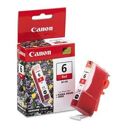 Canon BCI-6R Original Red Ink Cartridge