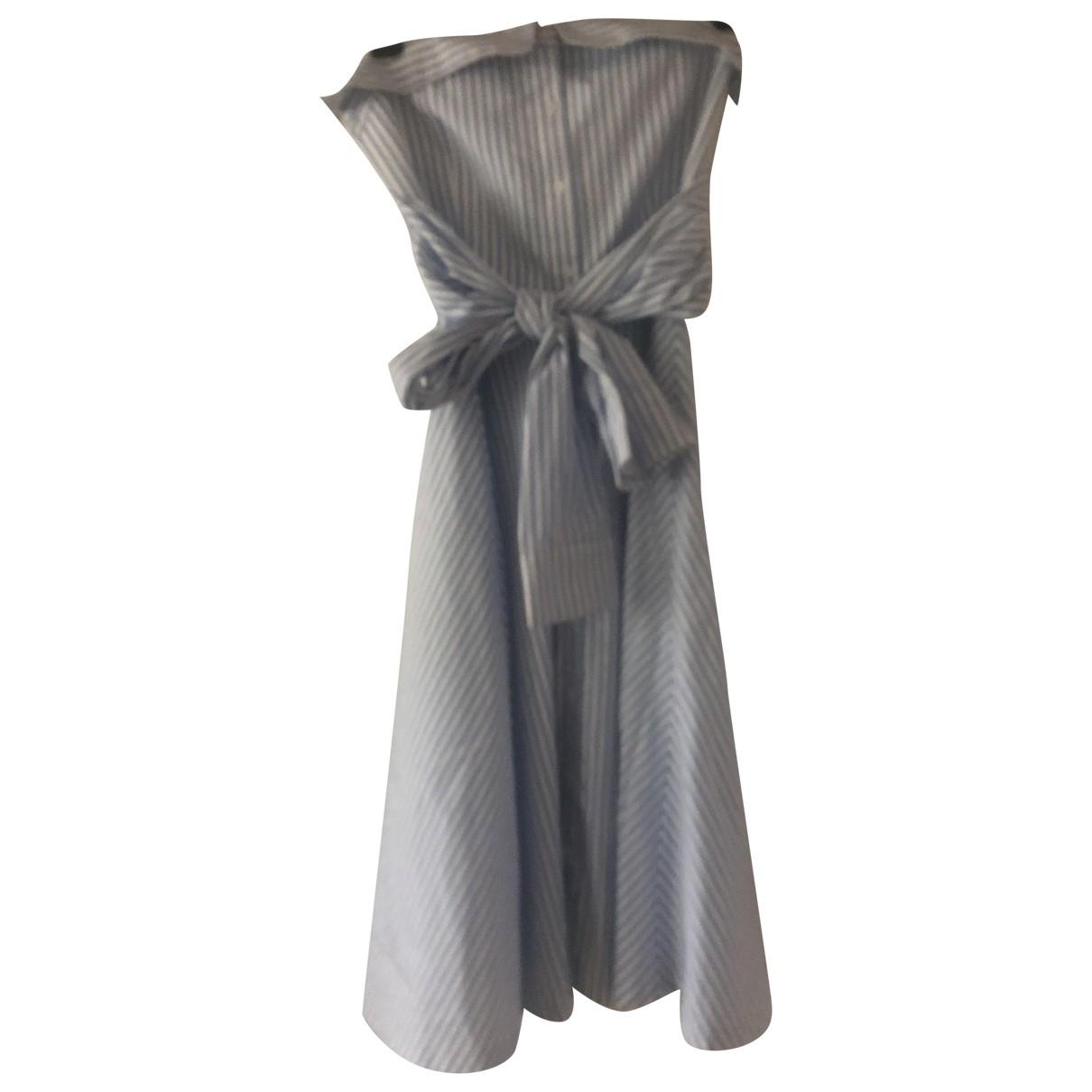Claudie Pierlot \N Kleid in  Blau Baumwolle
