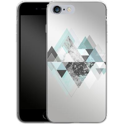 Apple iPhone 6 Plus Silikon Handyhuelle - Graphic 110 - Turquoise von Mareike Bohmer