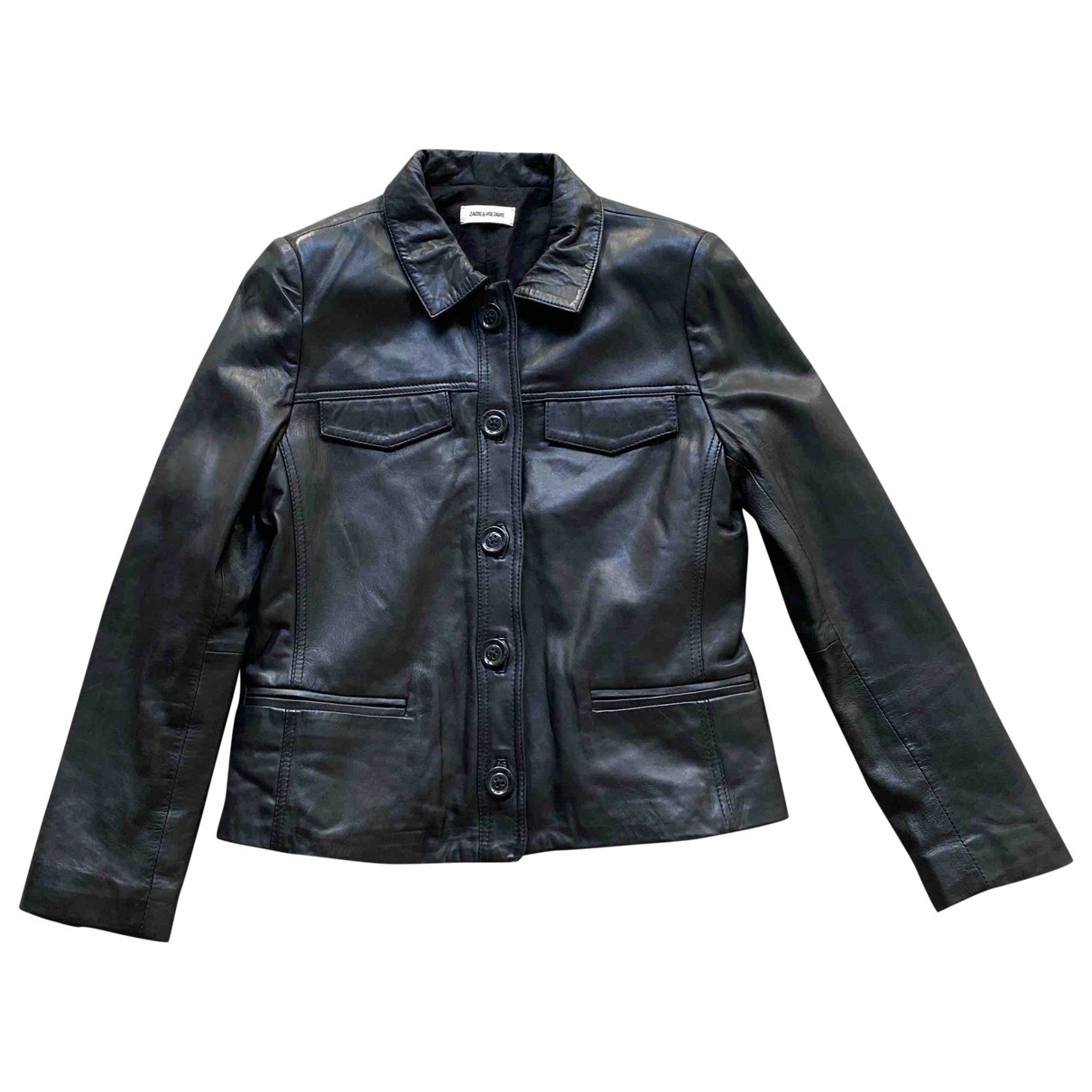 Zadig & Voltaire \N Black Leather jacket for Women M International