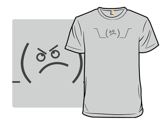 Shrug T Shirt