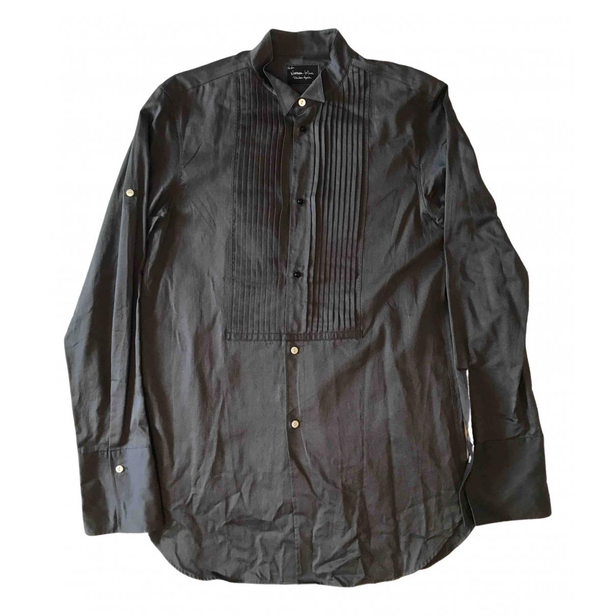 Number Nine - Takahiro Miyashita - Chemises   pour homme en coton - gris