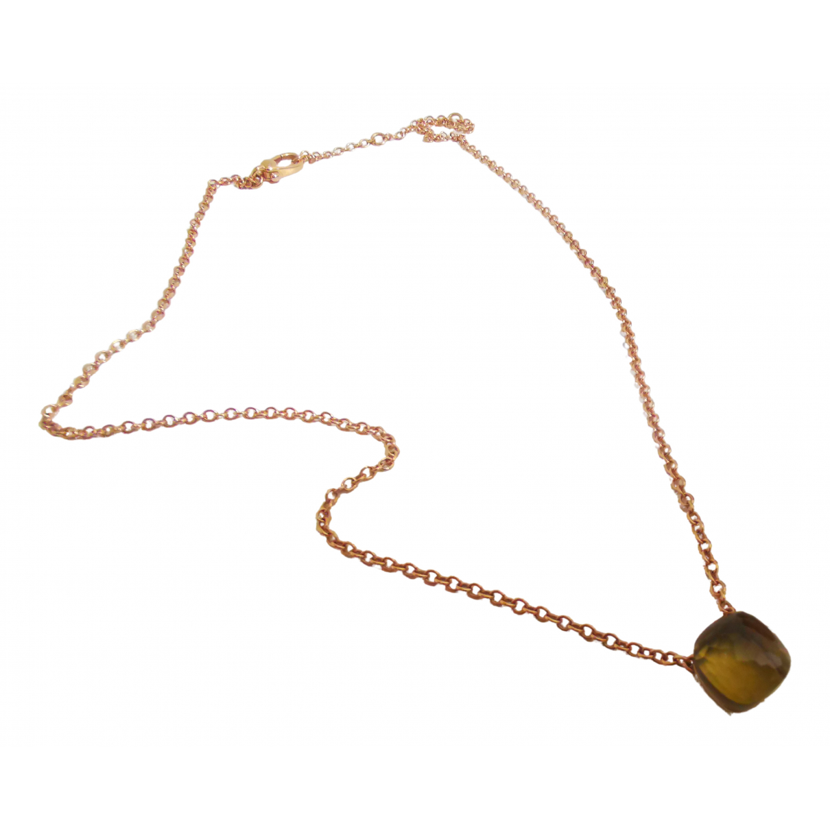 Pomellato Nudo Yellow Pink gold necklace for Women N