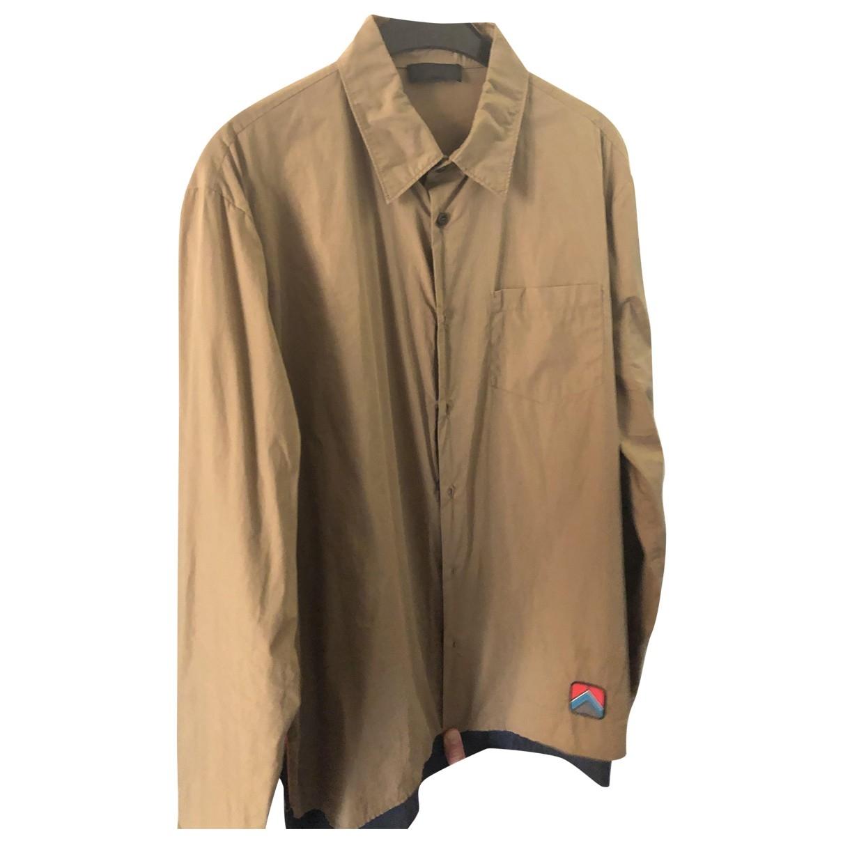 Prada \N Hemden in  Beige Baumwolle