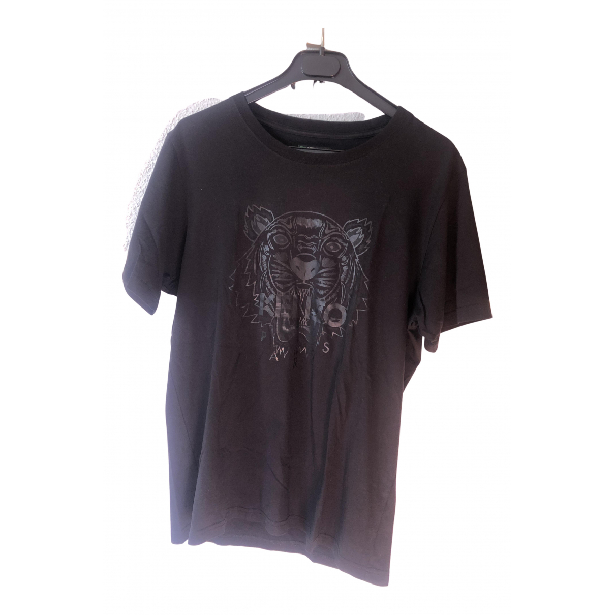 Kenzo - Tee shirts   pour homme en coton - noir