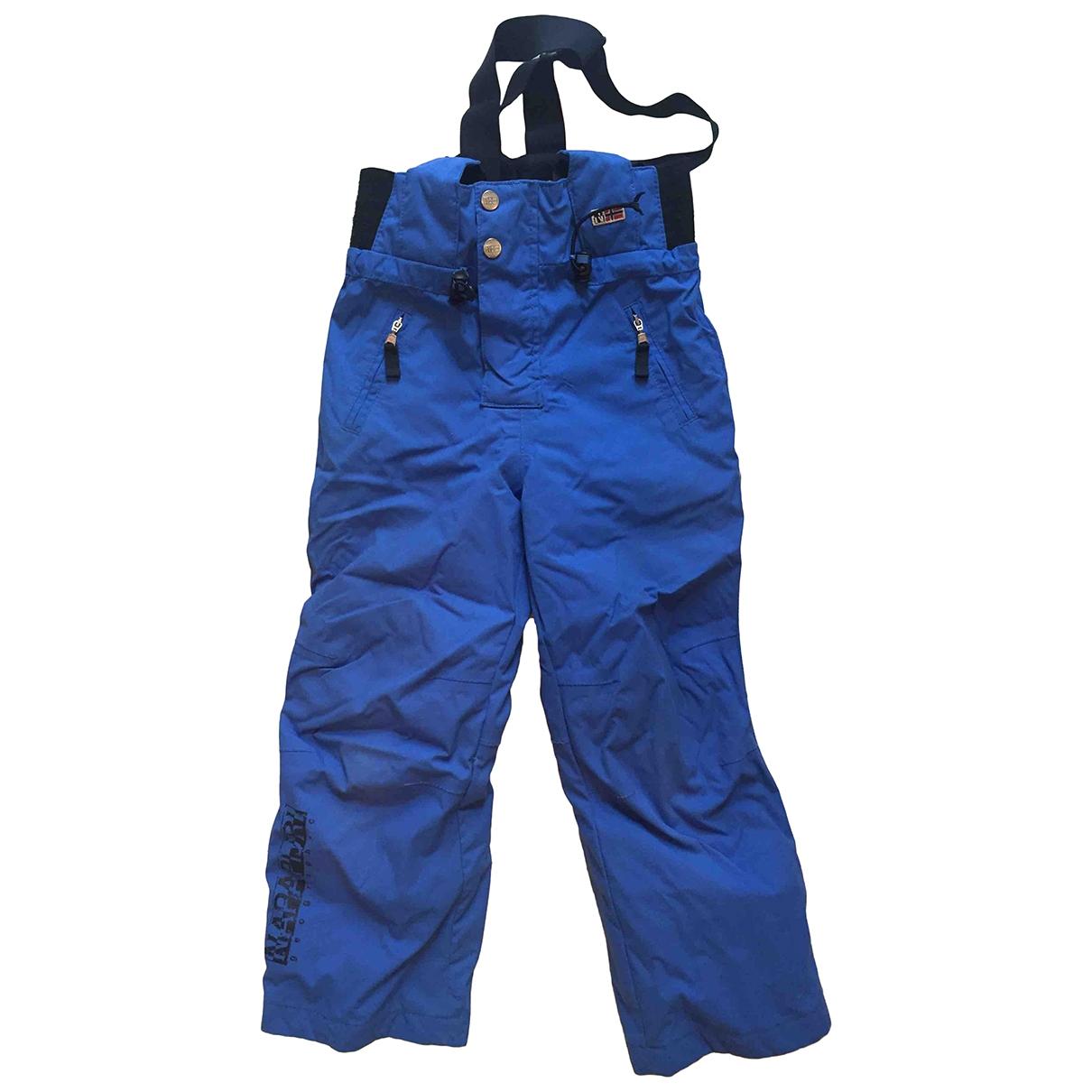 Napapijri - Pantalon   pour enfant - bleu