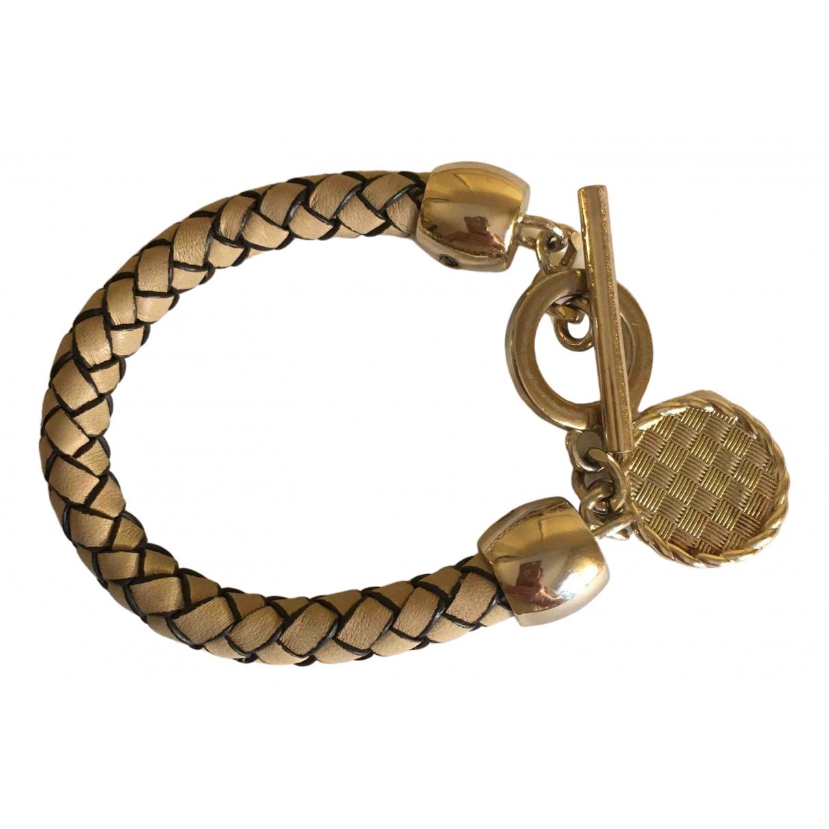 Reiss \N Beige Leather bracelet for Women \N