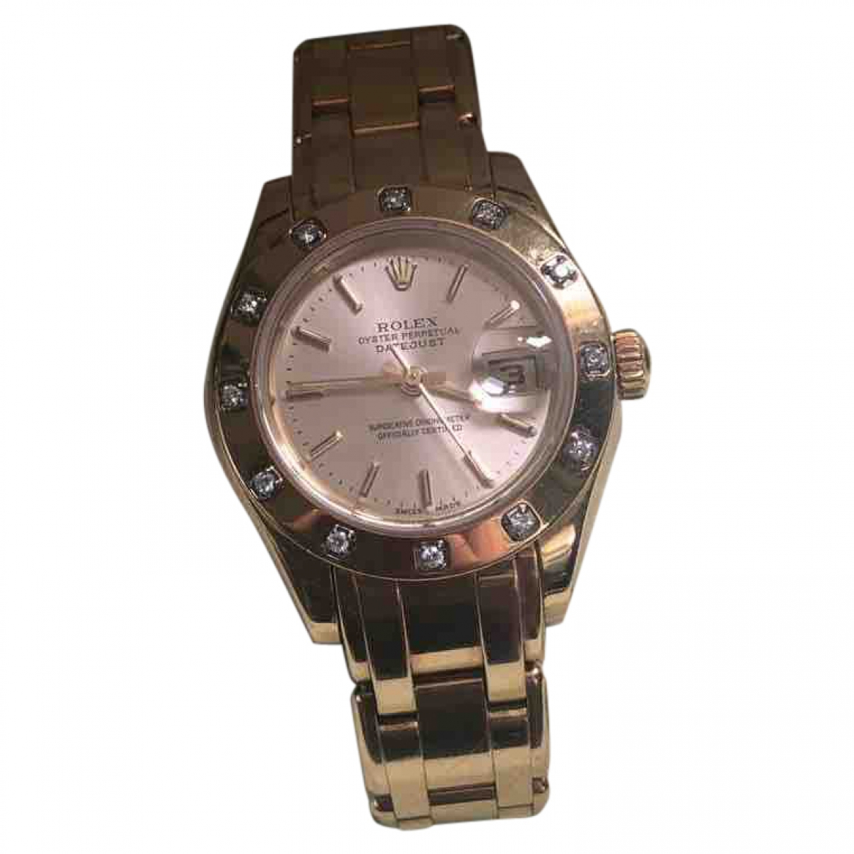 Rolex Lady Datejust Pearlmaster Uhr in  Gold Rosegold