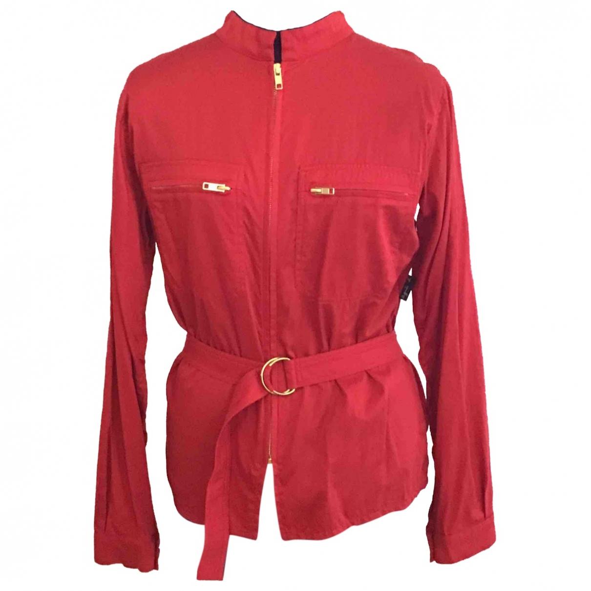 Agnes B. - Veste   pour femme en coton - rouge