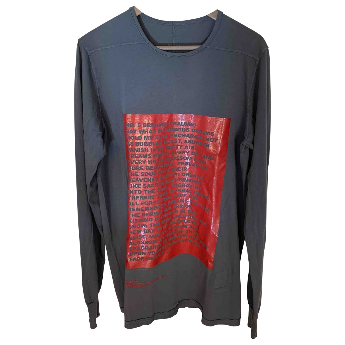 Camiseta Rick Owens Drkshdw