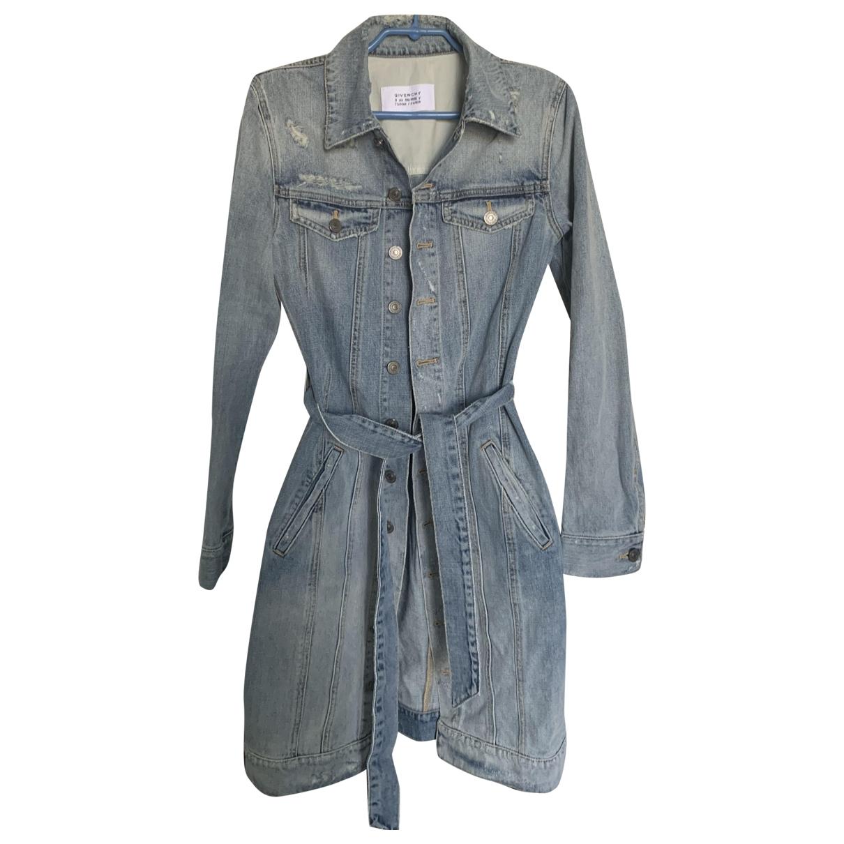 Givenchy \N Blue Denim - Jeans jacket for Women 36 FR