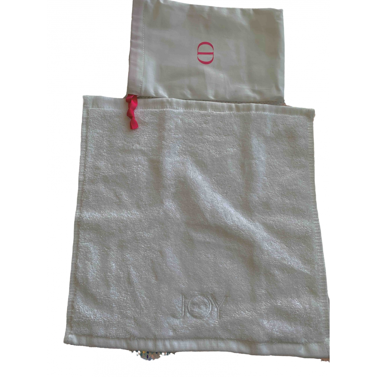 Dior - Linge de maison   pour lifestyle en coton - blanc