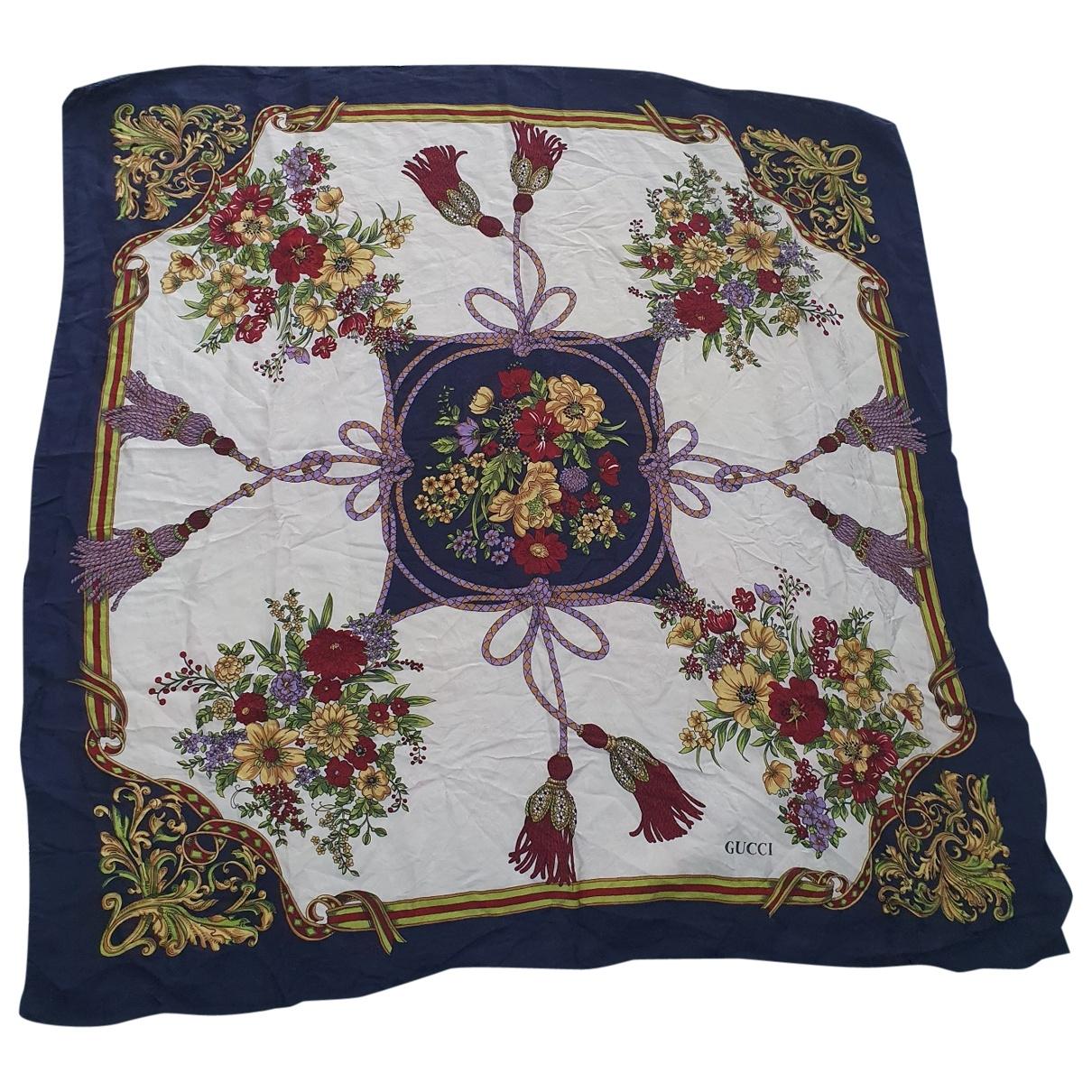 Gucci \N Multicolour Silk Silk handkerchief for Women \N