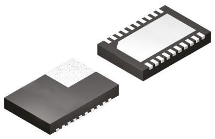 ON Semiconductor NCP59744MN2ADJTBG, LDO Voltage Regulator, 6A Adjustable, 0.8 → 3.6 V, ±1% 20-Pin, QFN (10)
