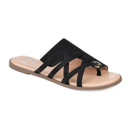 Journee Collection Womens Hasten Slip-On Shoe, 8 1/2 Medium, Black
