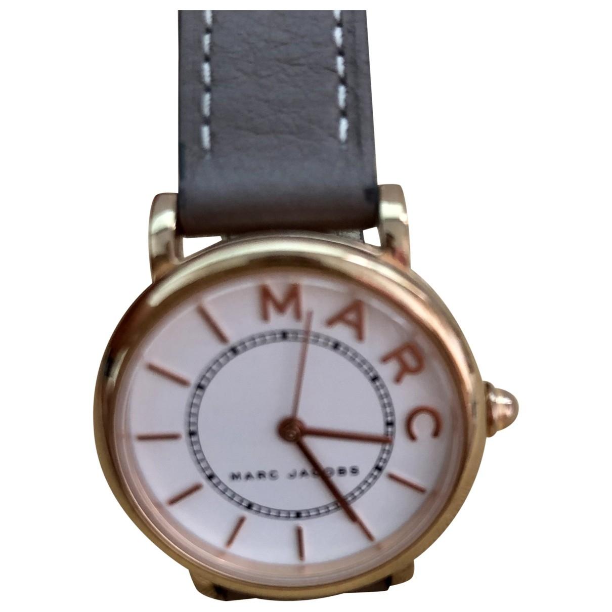 Marc Jacobs \N Uhr in  Braun Stahl