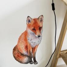 Fox Print Wall Sticker