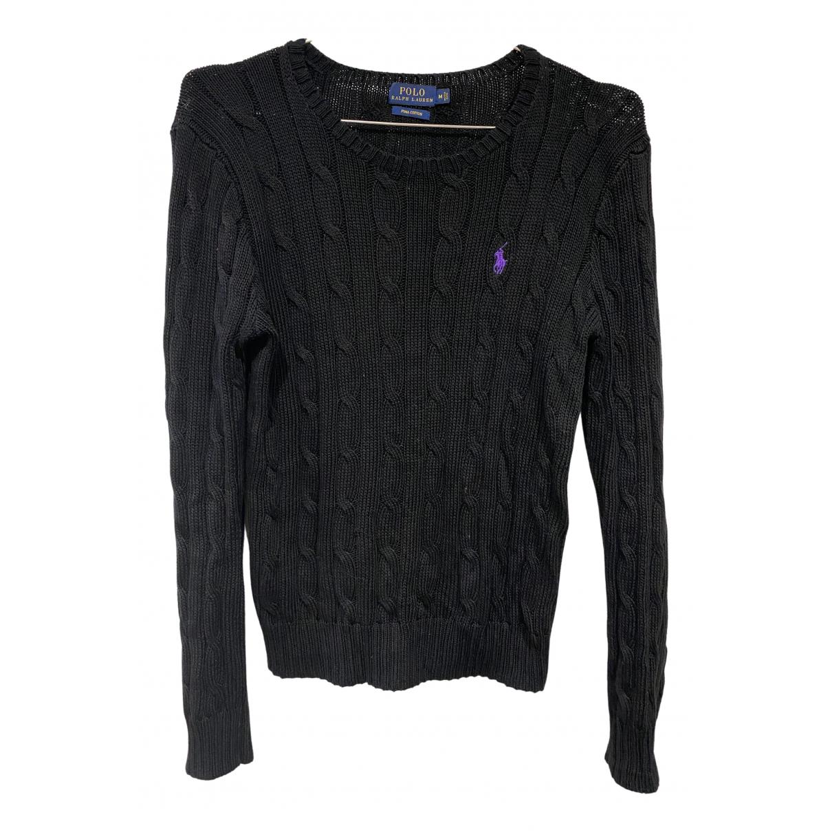 Polo Ralph Lauren \N Black Cotton  top for Women M International