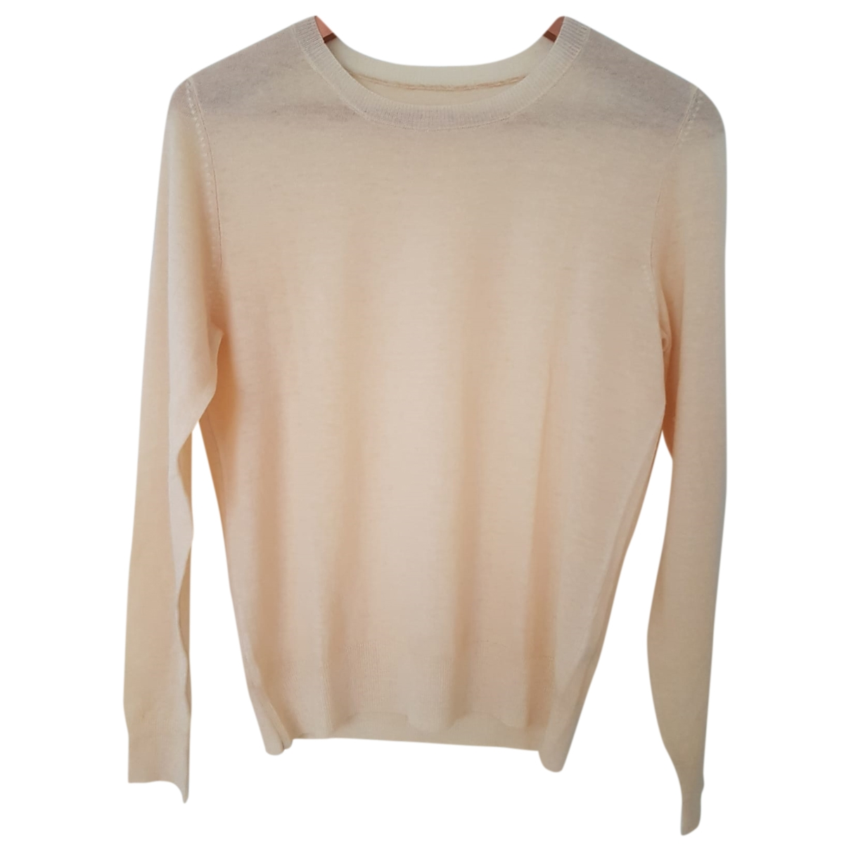 Non Signé / Unsigned \N Yellow Cashmere Knitwear for Women S International