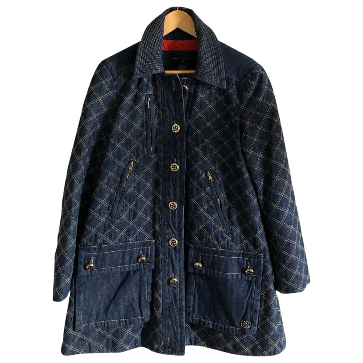 Marc By Marc Jacobs \N Blue Denim - Jeans jacket for Women M International
