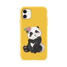 Funda de iphone con patron de panda