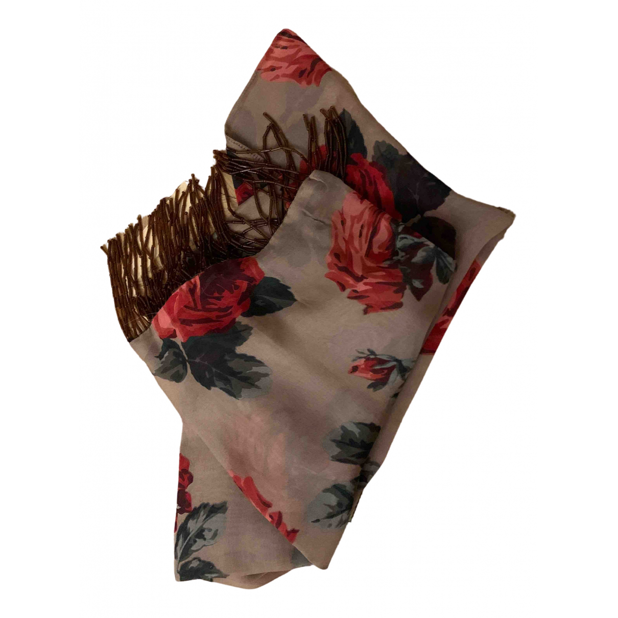 Dolce & Gabbana - Foulard   pour femme en soie - multicolore