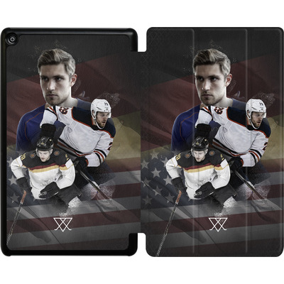Amazon Fire HD 8 (2018) Tablet Smart Case - Leon Draisaitl America von Leon Draisaitl